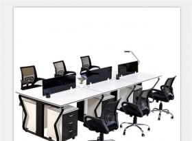 六人位简约办公桌