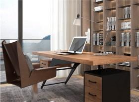 实木创意简约老板桌