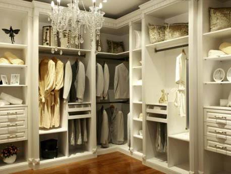 整体衣柜不同部位的不同清洁方法